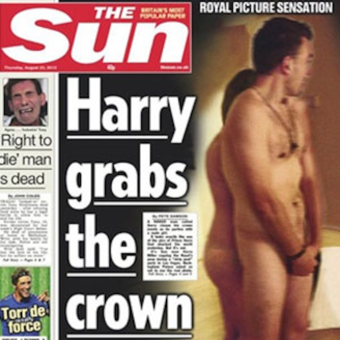 Prince Harry, The Sun