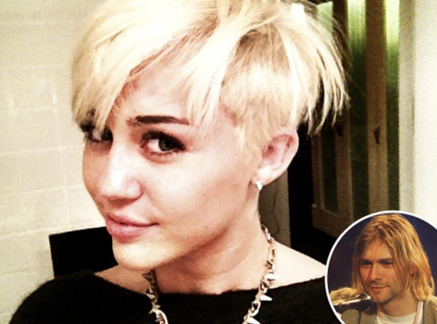 Miley Cyrus, Kurt Cobain