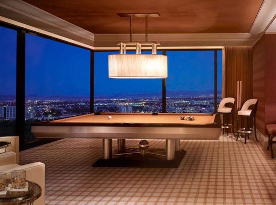 Wynn, Billiard Room, Prince Harry