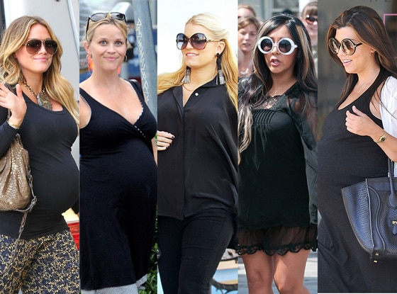 Hilary Duff, Jessica Simpson, Kourtney Kardashian, Reese Witherspoon, Snooki