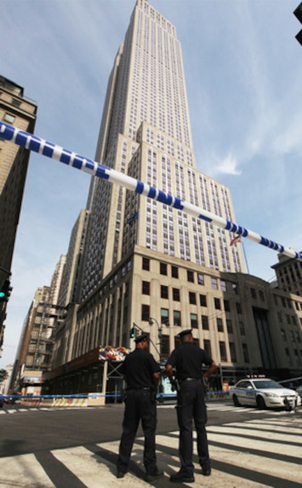 Empire State Building, Shooting