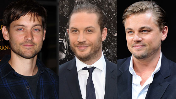 Tobey Maguire, Tom Hardy, Leonardo DiCaprio