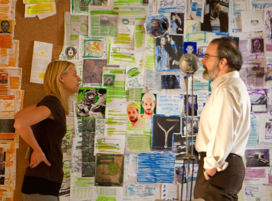 Homeland, Claire Danes, Mandy Patinkin