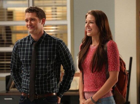 Glee, Matthew Morrison, Melissa Benoist