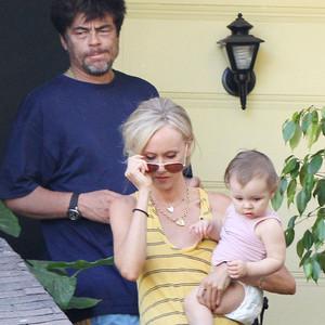 Benicio Del Toro, Kimberly Stewart
