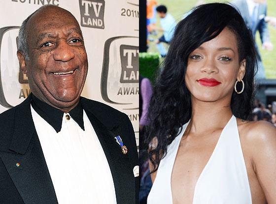 Bill Cosby, Rihanna