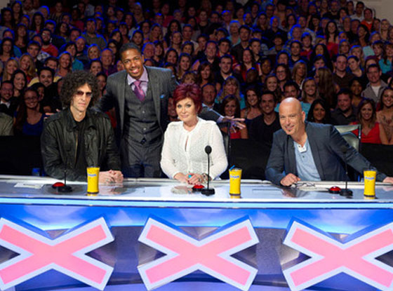 AMERICA'S GOT TALENT,  Howard Stern, Nick Cannon, Sharon Osbourne, Howie Mandel