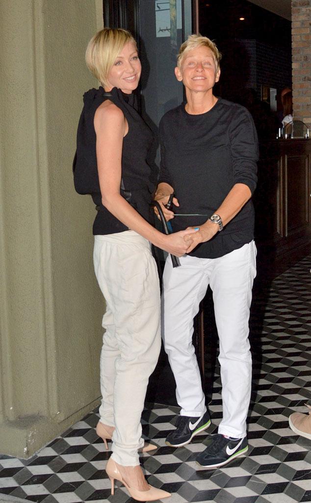 Ellen DeGeneres & Portia De Rossi From Celebrity Date