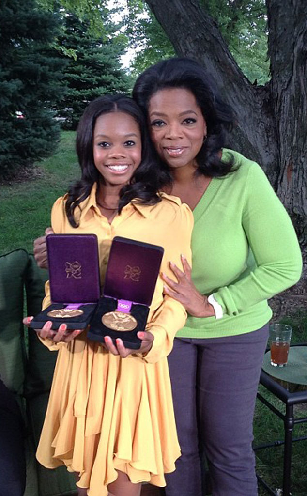 Gabby Douglas, Oprah Winfrey