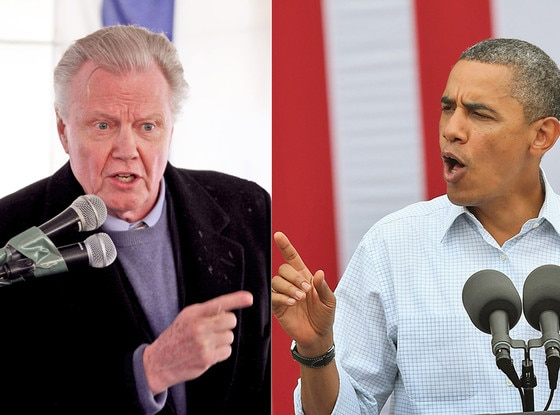 Jon Voight, President Barack Obama