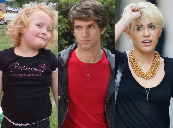 Honey Boo Boo, Alana Thompson, Keegan Allen, Miley Cyrus