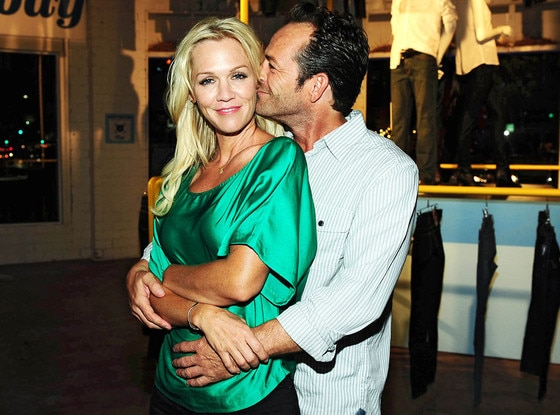 Jennie Garth, Luke Perry