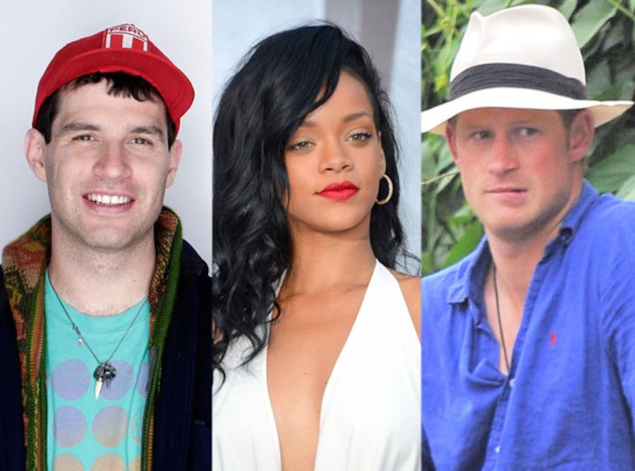 David Portner, Animal Collective, Rihanna, Prince Harry