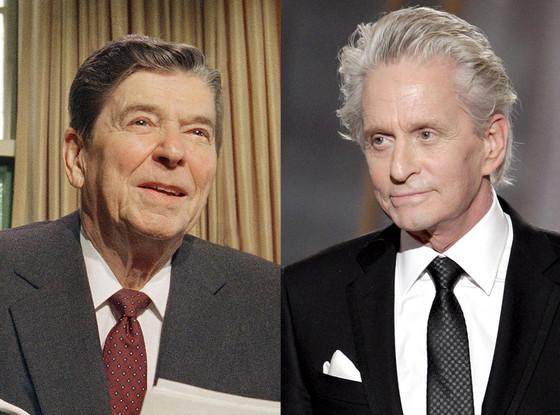 Ronald Reagan, Michael Douglas