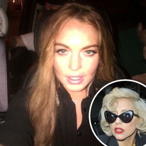 Lindsay Lohan, Lady Gaga