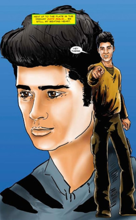 One Direction Comic Book