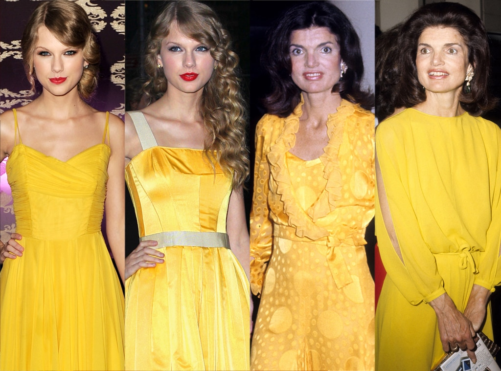 Taylor Swift, Jackie Kennedy, Yellow