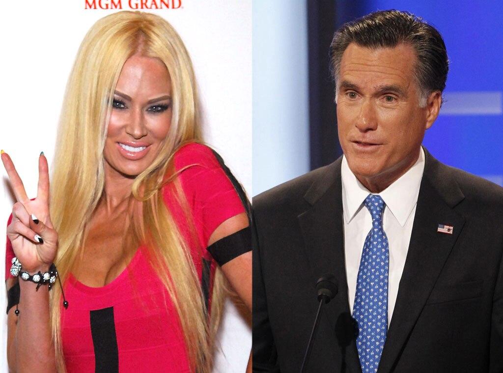 Jenna Jameson, Mitt Romney