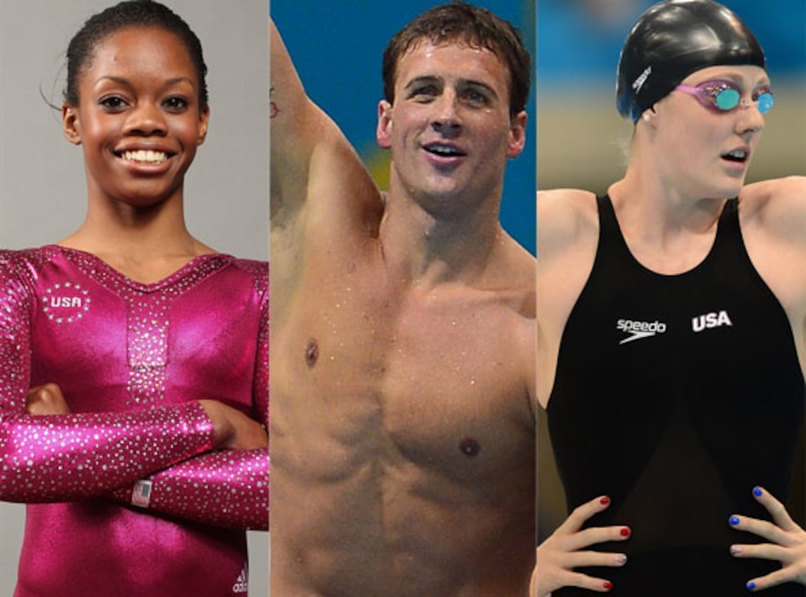 Gabby Douglas, Ryan Lochte, Missy Franklin, Olympics