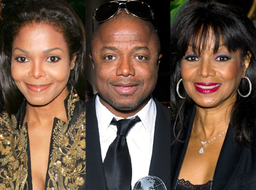 Janet Jackson, Randy Jackson, Rebbie Jackson