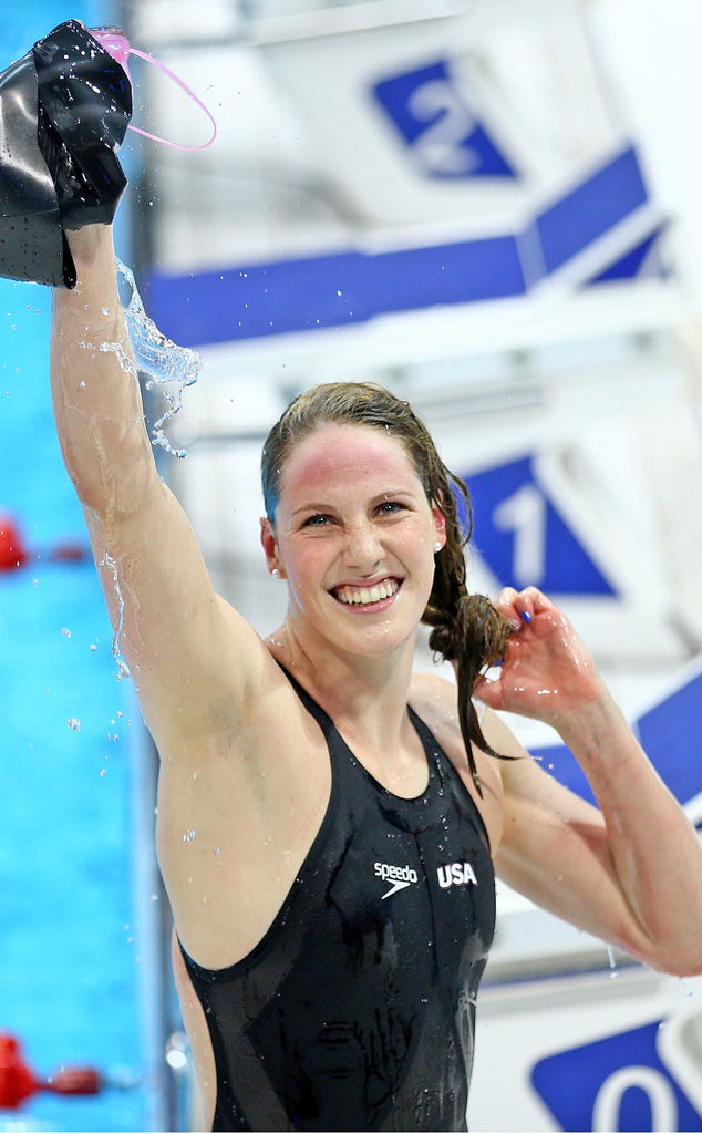 5 things to know about olympic swimmer missy franklin e news for Female only swimming pool london
