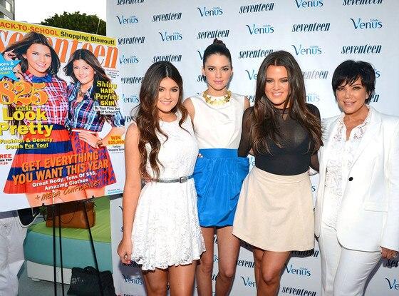 Kylie Jenner, Kendall Jenner, Khloe Kardashian Odom, Kris Jenner