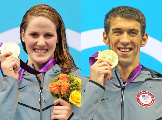 Missy Franklin, Michael Phelps