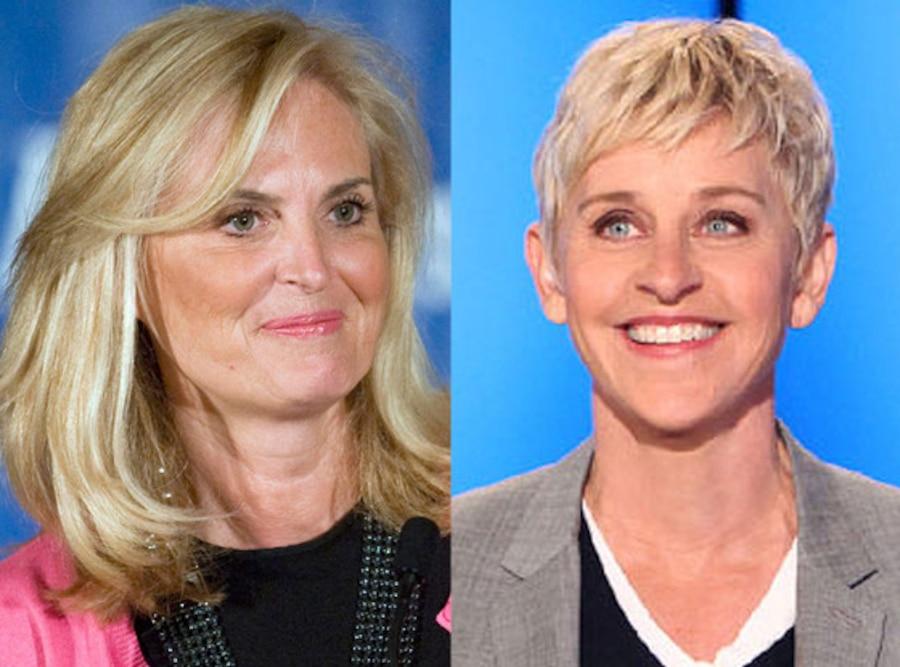 Ann Romney, Ellen DeGeneres