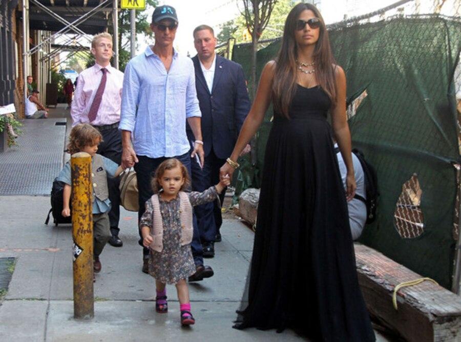 Camila Alves, Matthew McConaughey, Levi, Vida