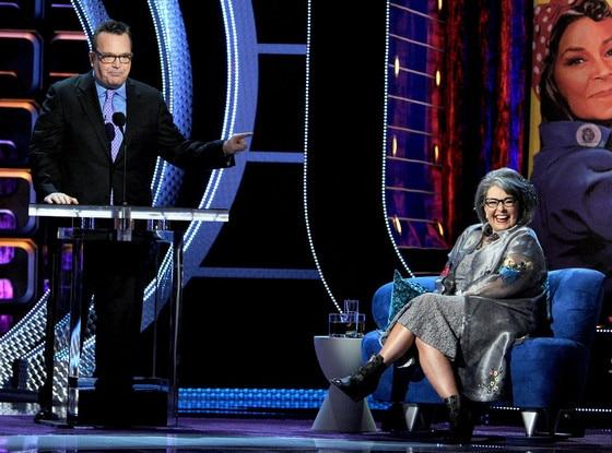 Tom Arnold, Roseanne Barr