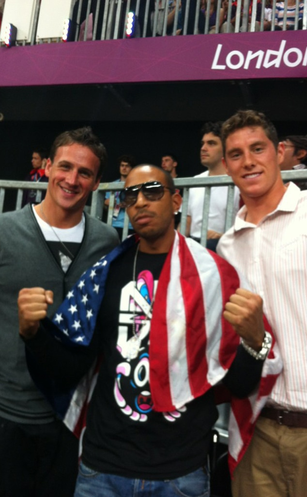 Ryan Lochte, Ludacris, Conor Dwyer