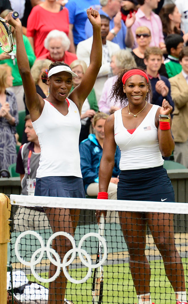Venus Williams, Serena Williams, 2012 Summer Olympics