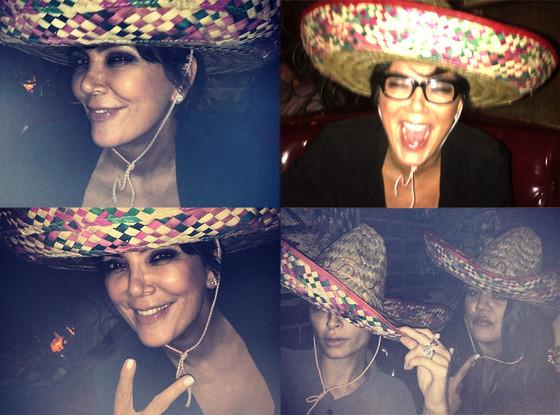 Kris Jenner, Khloe Kardashian Odom, Nicole Richie, Twit Pic
