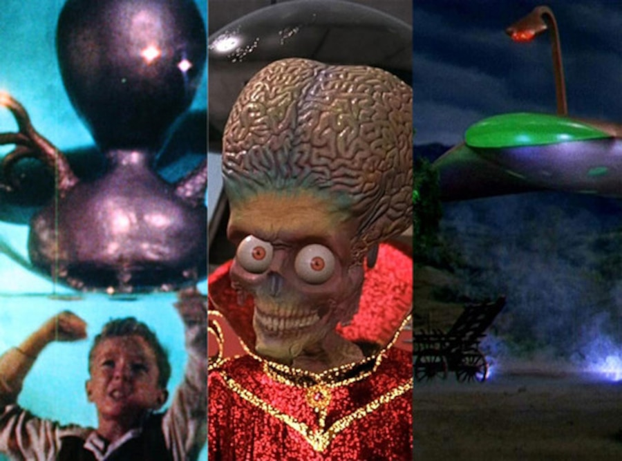 Invaders from Mars, Mars Attacks, War of the Worlds