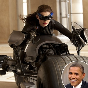 Anne Hathaway, Obama, Dark Knight