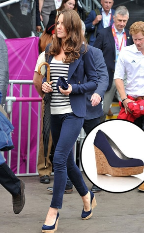 Kate Middleton, Stuart Weiztman shoes