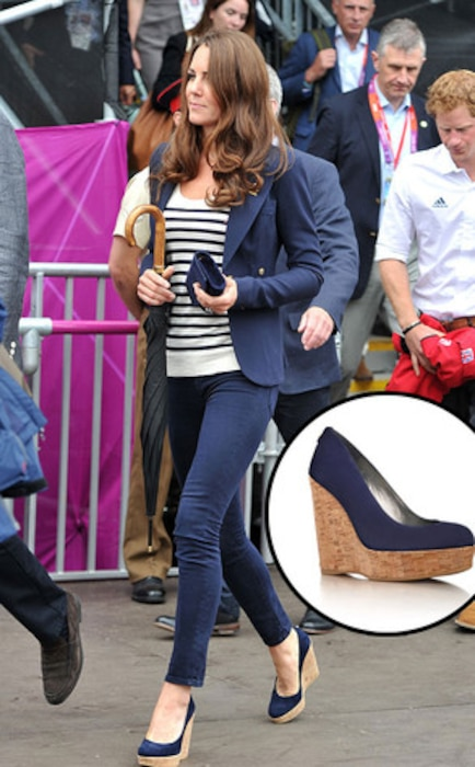 Kate Middleton, Stuart Weiztman shoes