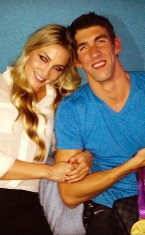 Michael Phelps, Megan Rossee, Twit Pic