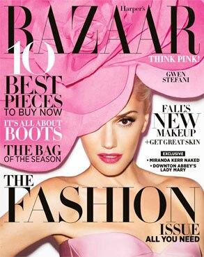 Gwen Stefani, Harper's Bazaar Cover