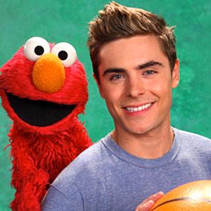 Zac Efron, Sesame Street