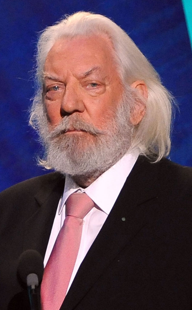 Donald Sutherland as President Snow from The Hunger Games ...