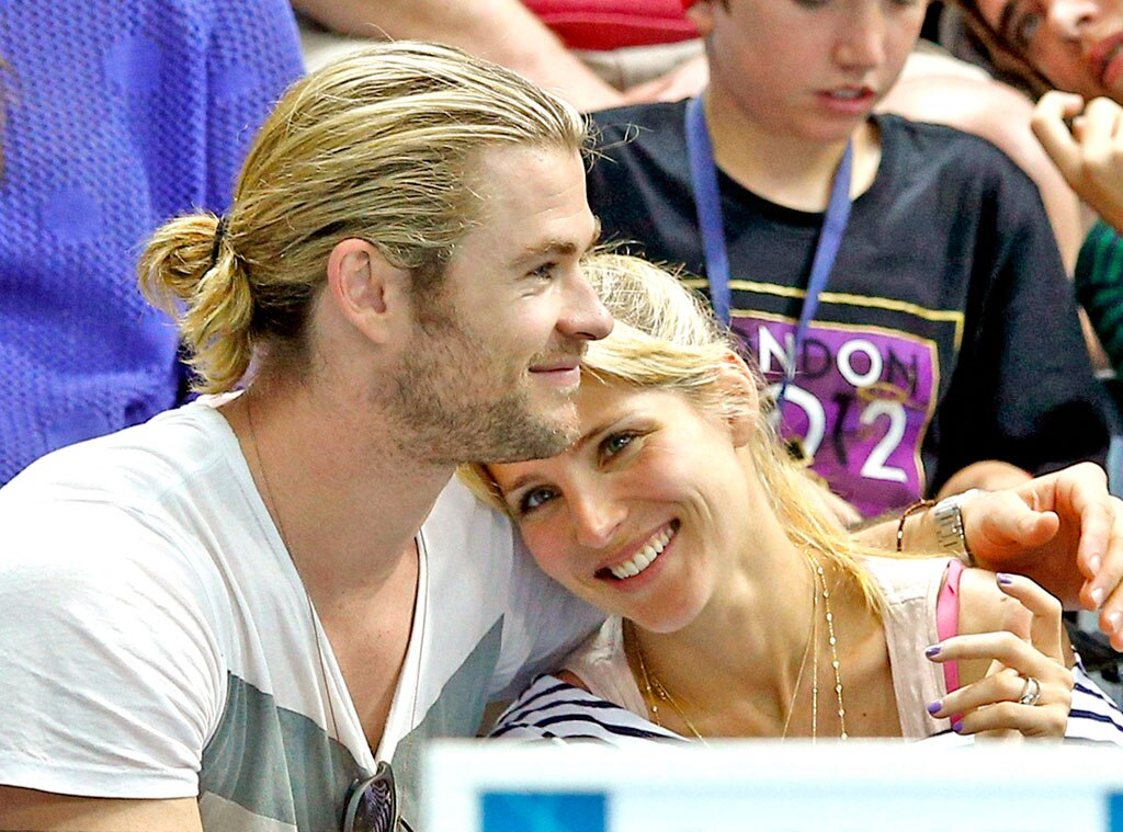 Chris Hemsworth & Elsa Pataky From The Big Picture: Today