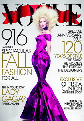 Lady Gaga, VOGUE Cover
