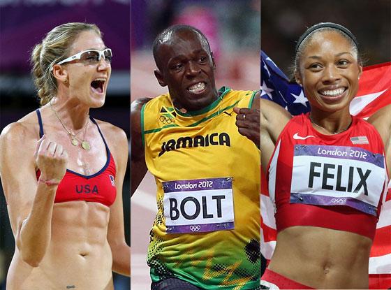 Kerri Walsh, Usain Bolt, Allyson Felix, Recap