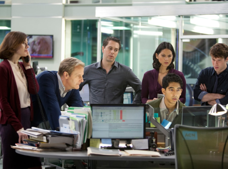 Newsroom, Emily Mortimer, Jeff Daniels, Thomas Sadoski, Olivia Munn, Dev Patel, John Gallagher, Jr.