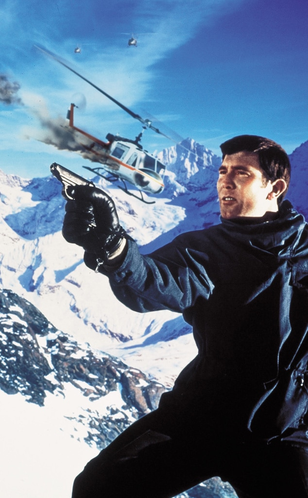 George Lazenby, On Her Majesty's Secret Service, James Bond