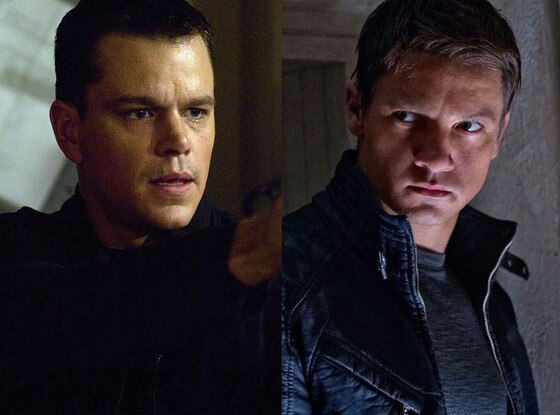 The Bourne Franchise, Jeremy Renner, Matt Damon