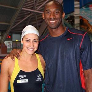 Stephanie Rice, Kobe Bryant
