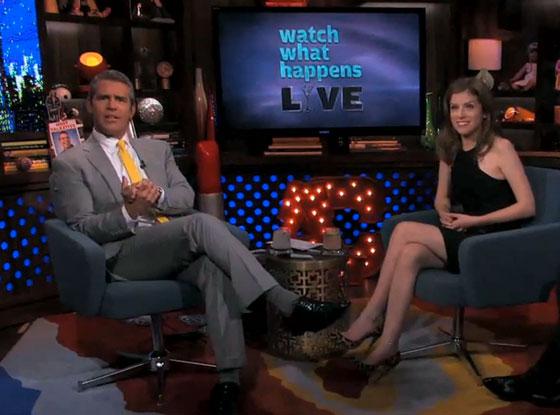 Anna Kendrick, Bravo's Watch What Happens