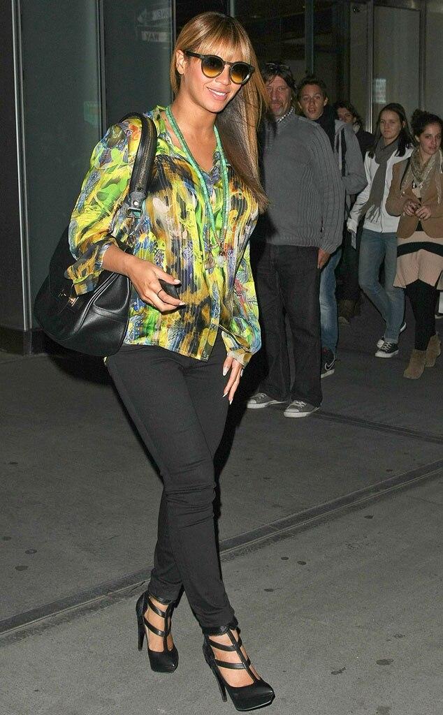 Beyonce, Pregnancy Fashion